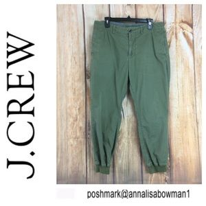 💸Men's J Crew green Chino pant size 32r